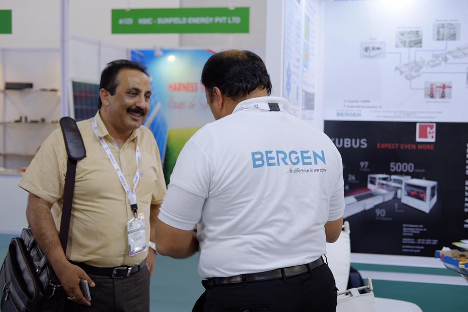 bergen at renewx2017, Hyderabad