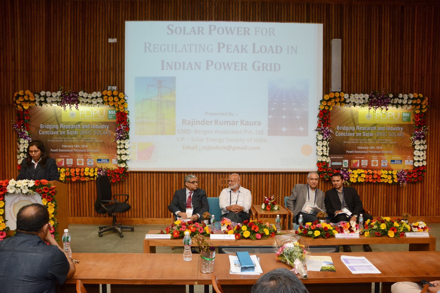 Bergen Group India @ BRIC Solar 2014